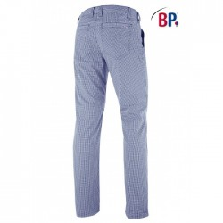 KOKSBROEK BAKKERSBROEK BP 1735 930 19 BLAUW WIT RUIT