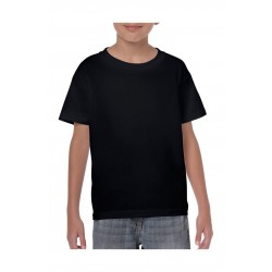 T-SHIRT GILDAN 5000B BLACK FOR KIDS