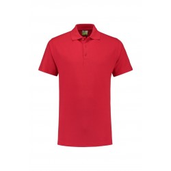 POLOSHIRT L&S BASIC SS FOR HIM 3540 RED