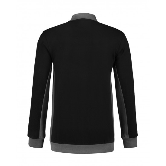 POLOSWEATER L&S WORKWEAR 4700 BLACK PEARLGREY T shirt