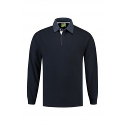 POLOSWEATER L&S 3215 NAVY-DENIM