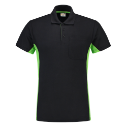 POLOSHIRT TRICORP BICOLOR 202002 TP2000 NAVY AFZ LIME