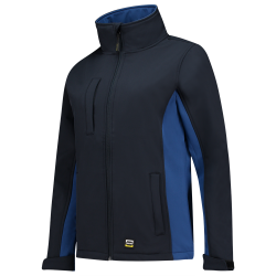 SOFTSHELL TRICORP 402008 NAVY-ROYALBLUE